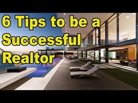 Be a Million-Dollar Real Estate Agent...with 6 Techniques
