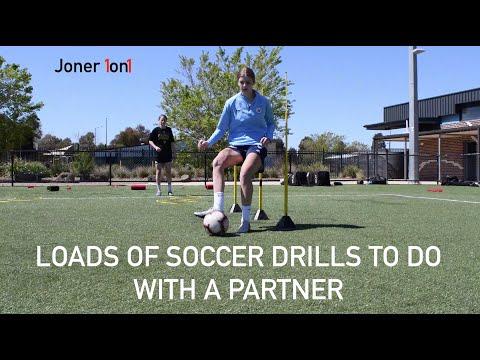 Loads Of Football Training Drills To Do With A PARTNER! | Joner 1on1 Football Training