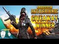 PUBG Steam Code Giveaway Winner