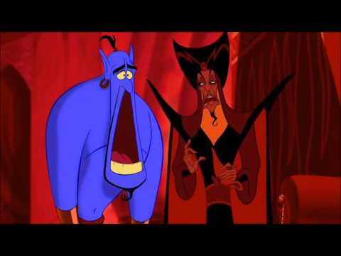Aladdin   Jasmine Kisses Jafar HD