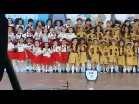 International School Of Choueifat - Dubai Investment Park KG1 Show (A Beautiful Day Song)