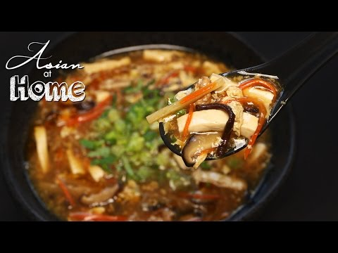 Asian at Home | Hot and Sour Soup
