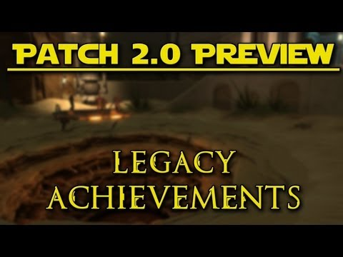 OSW :: SWTOR Patch 2.0 Preview - Legacy Achievement System