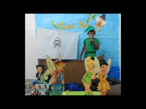 Assista: O aluno que levou a Maleta Viajante nesta semana foi Adryan Felipe, Que nos encantou com a historinha Peter Pan.
