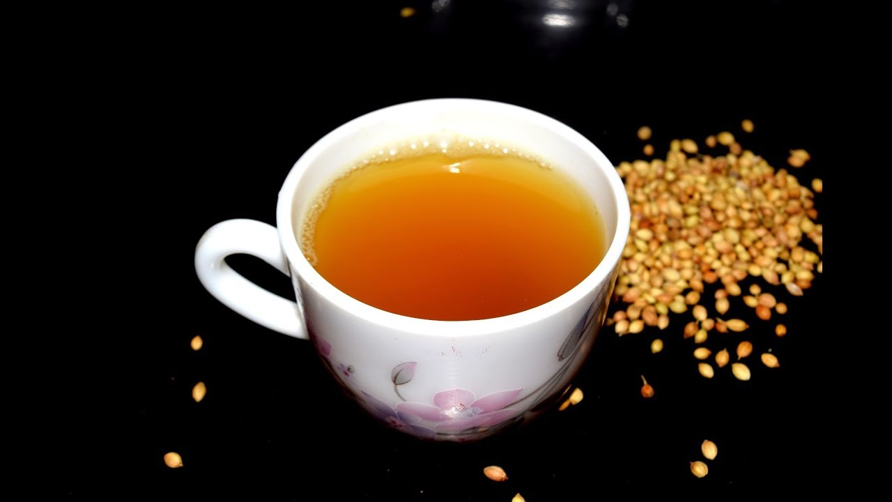 Cumin Coriander tea / Cumin Coriander tea for weight loss - YouTube