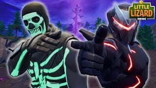 SKULL TROOPER TEAMS UP WITH OMEGA?! - *SKULL TROOPER RISES* Fortnite Short Films