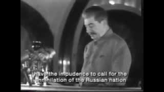 Stalin's speech about Hitler