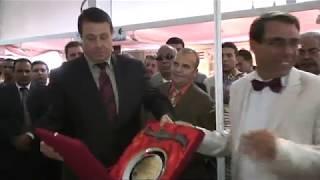 ceremonie de cloture du Salon International du Batiment Oran Batiwest'2018'