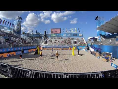 Beach Volleyball Match of the Day: USA Vs Germany