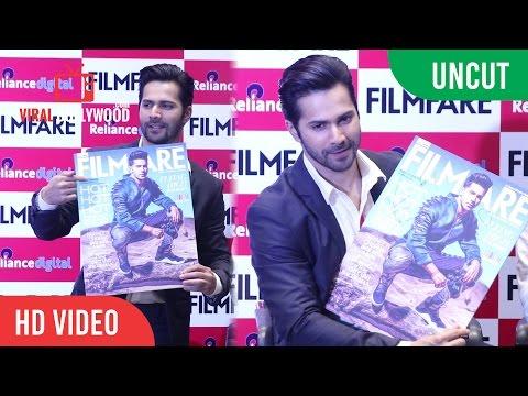 UNCUT - Varun Dhawan Launch Filmfare Magazine | Filmfare August Issue Magazine