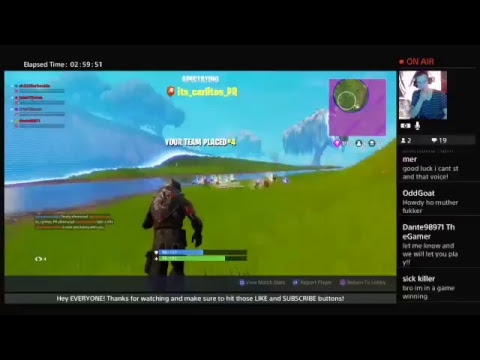 Fortnite with Everyone! (Let me know if you want to join!)