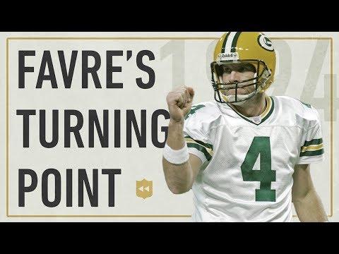 The Turning Point in Brett Favre's Career! | NFL Vault Stories
