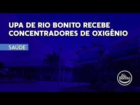 UPA DE RIO BONITO RECEBE CONCENTRADORES DE OXIGÊNIO