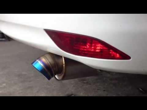ท่อซิ่ง!!!จิ๋ว The Stark Ti exhaust - New Vios BY idea Muffler.MOV