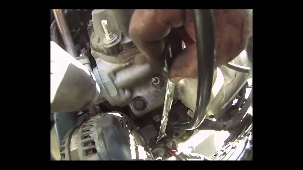 2005 Chrysler Town Country Alternator Remove And Replace