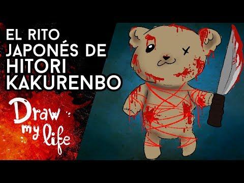 El RITO DEMONIACO de HITORI KAKURENBO - Draw My Life en Español
