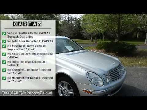 2004 Mercedes-Benz E500 - AsankaCars.Com - Sarasota, FL 34231