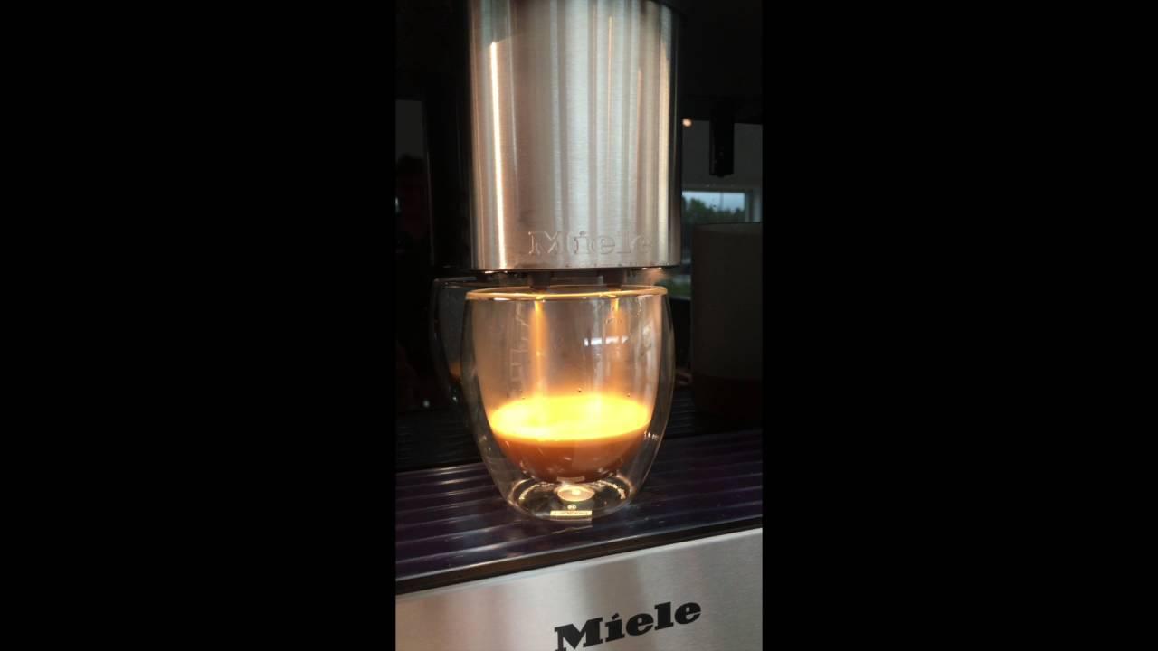 Miele Cva 6805 Coffemaschine Youtube