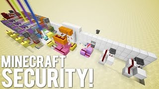 Minecraft: Ultimate Base Protection System [The Mega Lock]