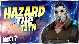 *MY BOII* Hazard the 13th skin   Best Hero For HordeBash   Fortnite Save The World