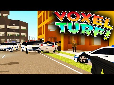 Voxel Turf Game - BRICK RIGS MEETS GTA?! NEW OPEN WORLD SANDBOX GAME! - Voxel Turf Gameplay & Review