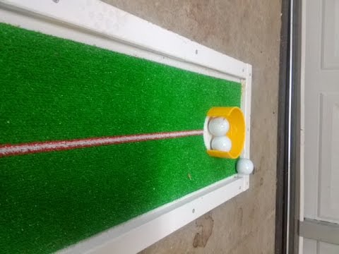 Build a Simple Home Putting Green - YouTube