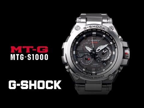 CASIO G-SHOCK MT-G MTG-S1000D product video