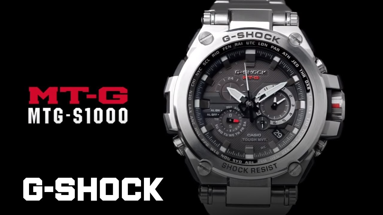 4c9e857f46ea CASIO G-SHOCK MT-G MTG-S1000D product video - YouTube