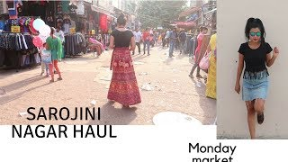 Sarojini Nagar Haul/Lowest price market delhi