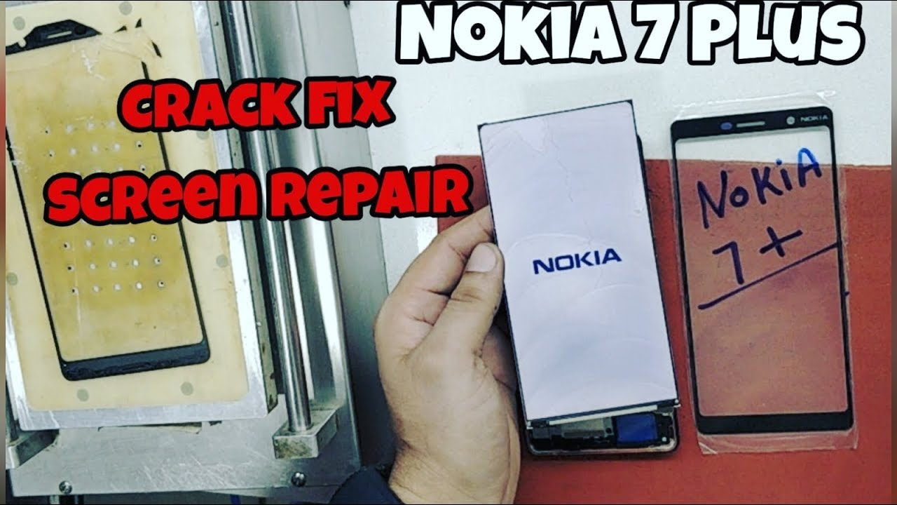 Nokia 7 Plus glass replacement | SCREEN REPAIR