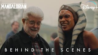 Ahsoka Tano Behind the Scenes Star Wars The Mandalorian | Disney+