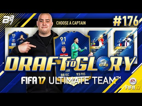 DRAFT TO GLORY! SHORTAGE OF TOTS IN DRAFT? #176 | FIFA 17 ULTIMATE TEAM