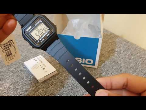 Budget Friendly Casio Digital Watch W217H-9A Unboxing and Quick Review