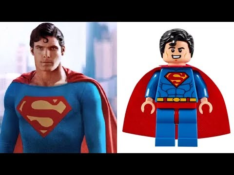 LEGO SUPERMAN - Minifigures VS Movies & Comics etc.