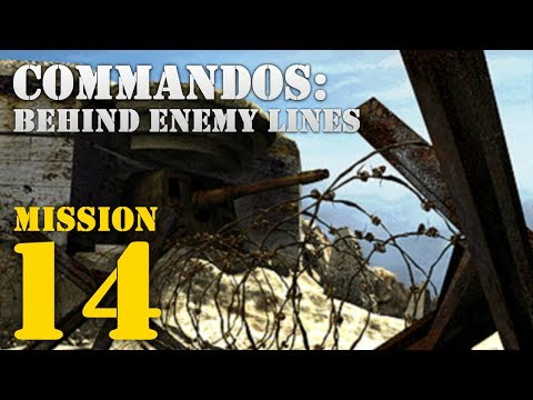 Commandos: Behind Enemy Lines -- Mission 14: D-Day Kick Off