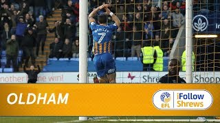 HIGHLIGHTS: Town 1 Oldham 0