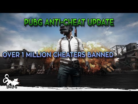 PUBG released new anti-cheat update and 1 million cheater accounts banned in January