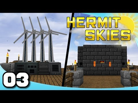 Hermit Skies - Ep. 3: Smeltery and Power! | Project Ozone Lite