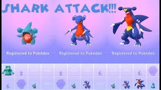 Pokemon Go Wild Gible & Gabite-Garchomp Evolutions