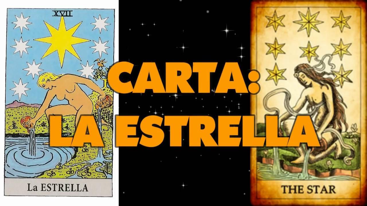Significado De Las Cartas De Tarot La Estrella Youtube