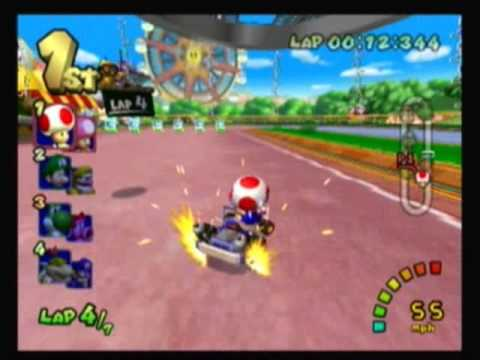 how to play mario kart double dash on wii