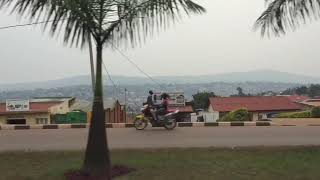 I went to Africa Rwanda for my first time.