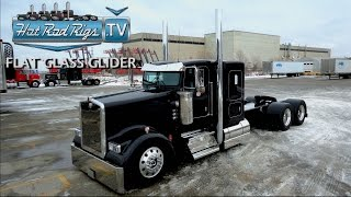 FLAT GLASS KENWORTH W900 FULLY LOADED WITH C-15 POWER - BUILT BY THE BEST - HOT ROD RIGS TV