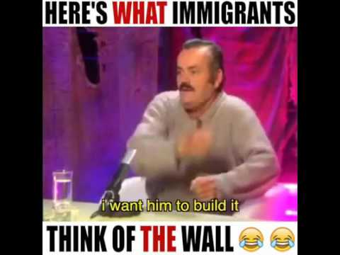 Mexican talks about Trump's wall