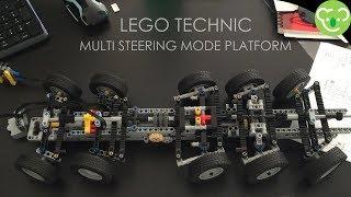 Functionnal tests for Multi Steering Mode Platform - Prototype & MOC Lego Technic