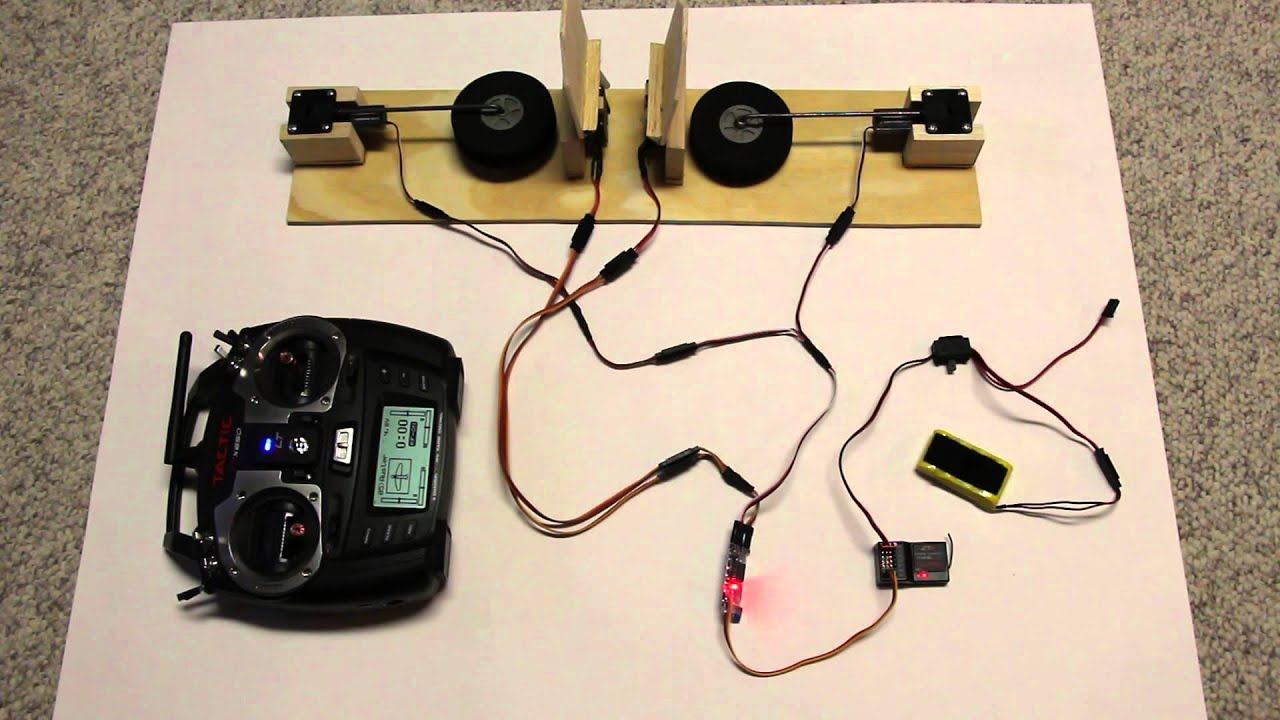 Electric retracts & gear door sequencer - P-51 style and P-47 style