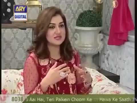 Ayesha Sana Explaining Bright Krain To Nida Yasir Morning Show 2016