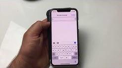 Tuto Comment  Envoyer Un Message Vocal D'iPhone à iPhone Message Audio Apple !!!