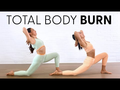 14 Minute Total Body Pilates Class - Warmup, Abs, Butt, Cardio