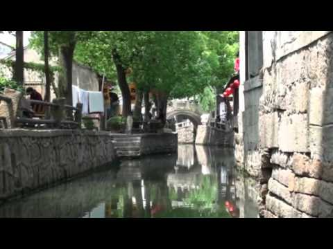 Boat Ride on the ancient Grand Canal Suzhou